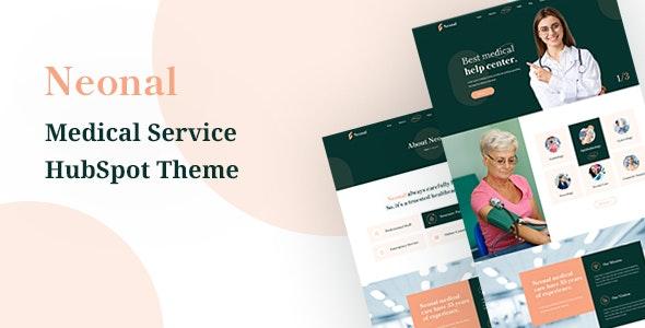 Neonal - Medical Service HubSpot Theme - Corporate HubSpot CMS Hub