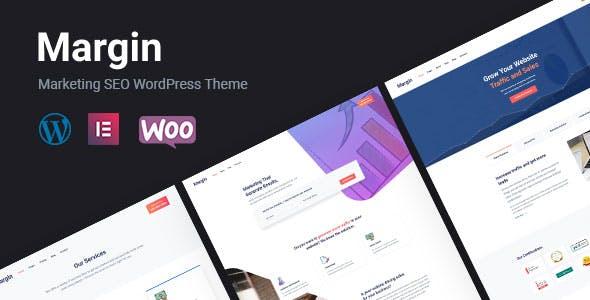 Margin | Elementor Marketing & SEO WordPress Theme