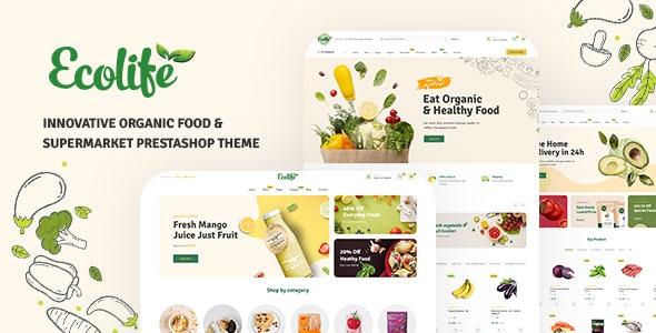 Leo Foodvegan - Organic Food & Supermarket - PrestaShop eCommerce