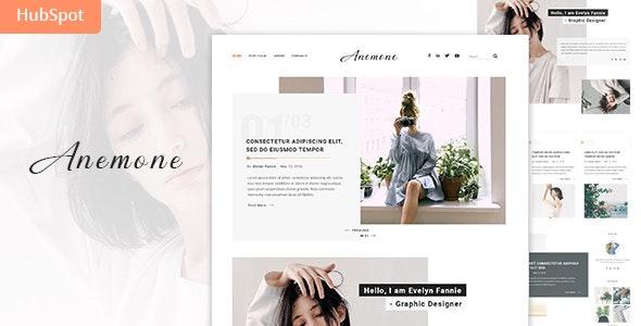 Anemone - Blog and Magazine HubSpot Theme - Creative HubSpot CMS Hub