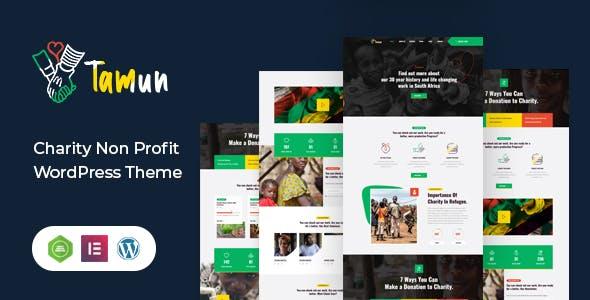 Tamun - Fundraising WordPress Theme