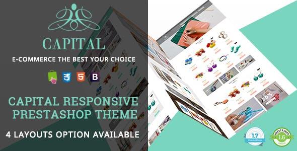 Capital - Handmade Shop Responsive PrestaShop 1.7 & 1.6 Theme