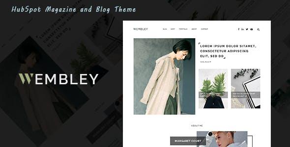 Wembley - Magazine and Blog HubSpot Theme