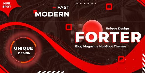 Forter - Magazine and Blog HubSpot Theme - Blog / Magazine HubSpot CMS Hub