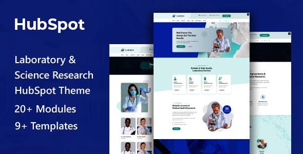 Laborex | Laboratory & Research HubSpot Theme