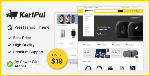 KartPul - Electronics Prestashop Theme - Shopping PrestaShop