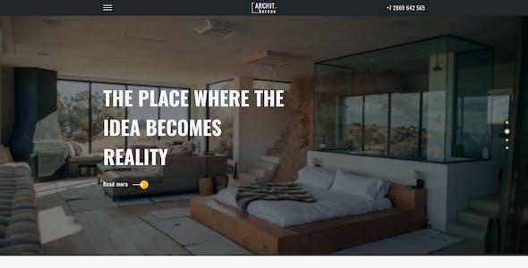 Archit.bureau- Architecture Figma Template