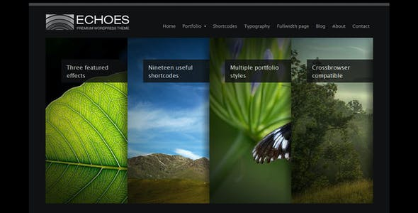 Echoes | Wordpress Theme