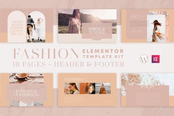 Valentina - WooCommerce Elementor Template Kit - Fashion & Beauty Elementor