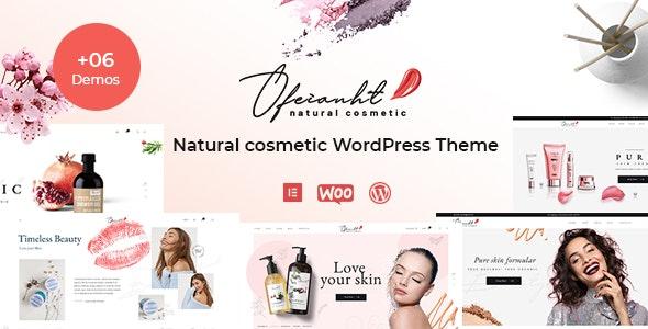 Ofeianht - Natural Cosmetics WordPress Theme - WooCommerce eCommerce