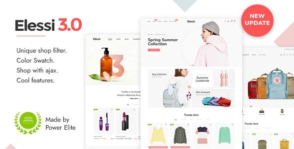 Elessi 3 - Responsive Shopify Theme - Fashion Shopify
