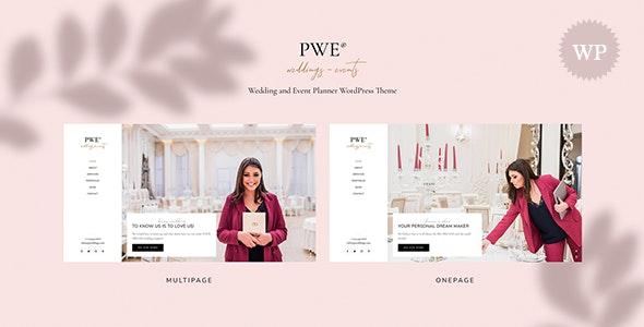 PWE - Wedding and Event Planner WordPress Theme - Wedding WordPress