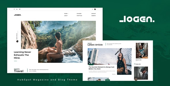 Logen - Blog and Magazine HubSpot Theme - Blog / Magazine HubSpot CMS Hub