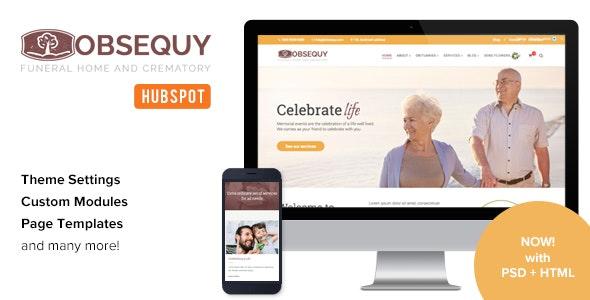Obsequy - Funeral Home HubSpot Theme - Miscellaneous HubSpot CMS Hub