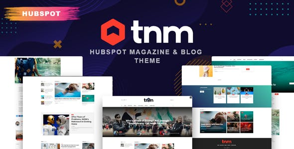 The Next Mag - Blog and Magazine HubSpot Theme