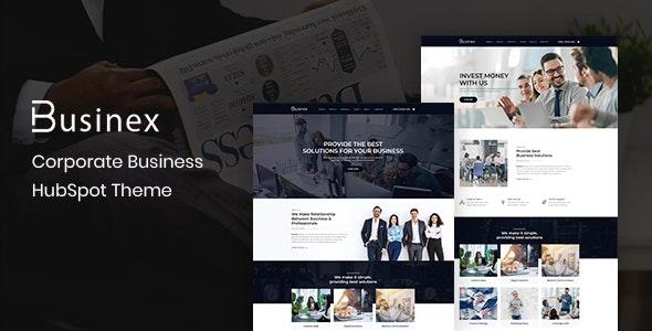 Businex – Corporate HubSpot Theme - Corporate HubSpot CMS Hub
