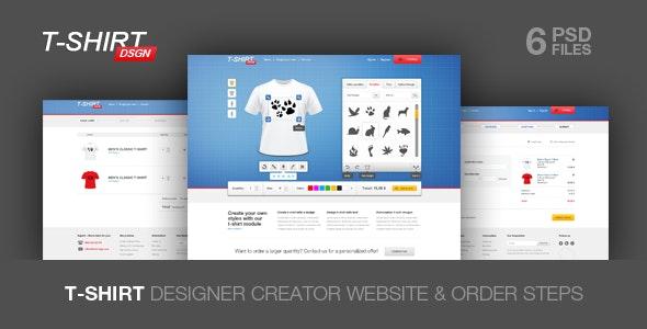 T Shirt Designer Creator - Fashion Retail