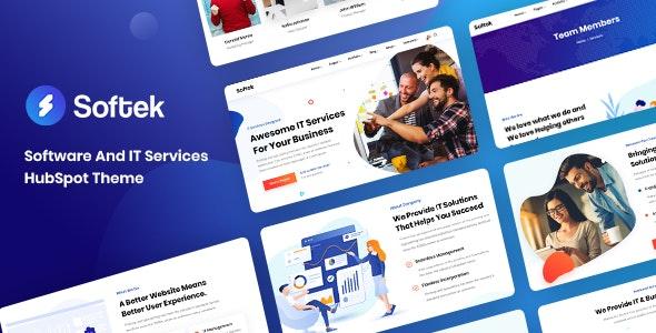 Softek - Software & IT Solutions HubSpot Theme - Technology HubSpot CMS Hub