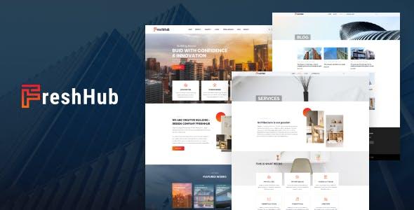 Fresh Hub - CMS HubSpot Theme