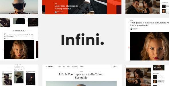 Infini - HubSpot Theme - Blog / Magazine HubSpot CMS Hub