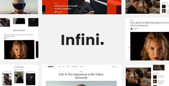 Infini - HubSpot Theme