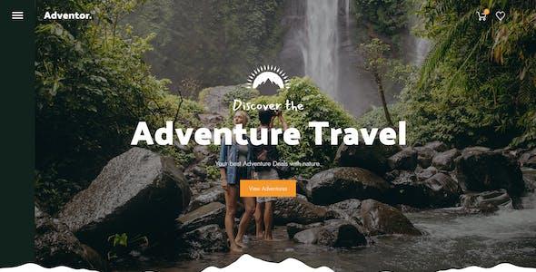 Adventor - Travel Shop PSD
