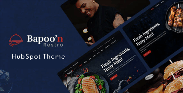 Bapoon - Restaurant HubSpot Theme - HubSpot CMS Hub CMS Themes