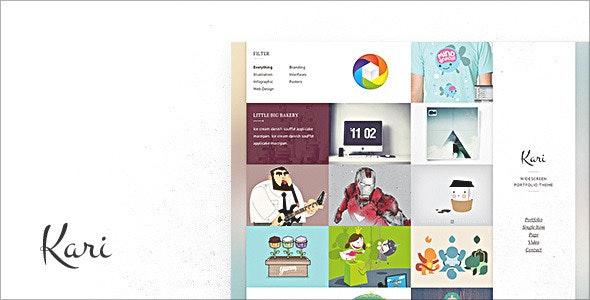 Kari - Creative Site Templates