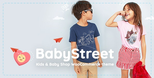 BabyStreet - WooCommerce Theme for Kids Toys and Clothes Shops - WooCommerce eCommerce
