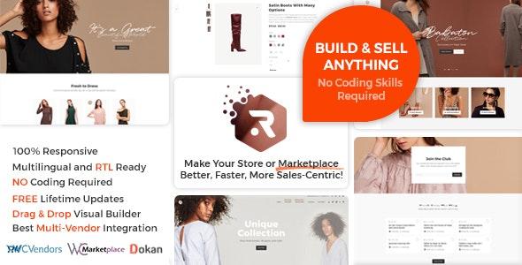 Rigid -  WooCommerce Theme for Enhanced Shops and Multi Vendor Marketplaces - WooCommerce eCommerce