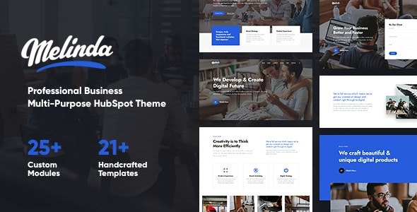 Melinda - Multi-Purpose HubSpot Theme - Corporate HubSpot CMS Hub
