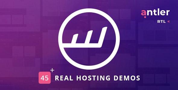 Antler v2.4 – Hosting Provider & WHMCS Template