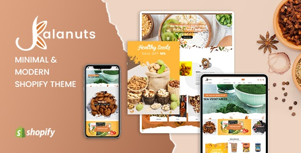 KalaNuts - Mobile Optimized Responsive Shopify Theme for Dry Goods - Shopify eCommerce