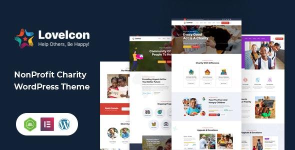 LoveIcon – Nonprofit Charity Theme - Charity Nonprofit