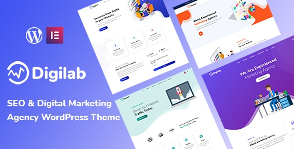 Digilab - Digital Marketing Agency WordPress Theme - Marketing Corporate
