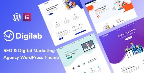 Digilab - Digital Marketing Agency WordPress Theme