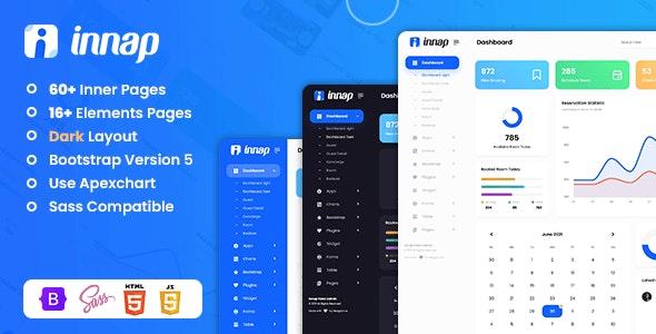 Innap - Hotel Admin Dashboard Bootstrap 5 Templates - Admin Templates Site Templates