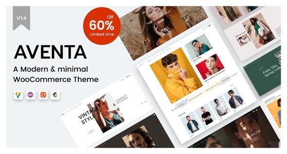 Aventa - Minimal WooCommerce theme - WooCommerce eCommerce