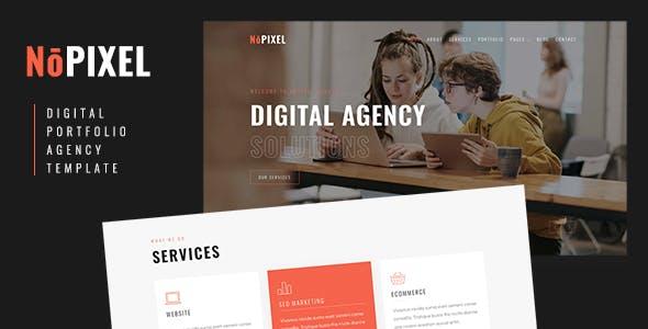 NoPixel - Digital Portfolio and Agency Template