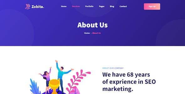 Zobita– Digital Marketing PSD template