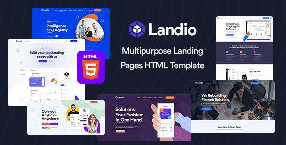 Landio - Multipurpose Landing Page HTML Template - Business Corporate
