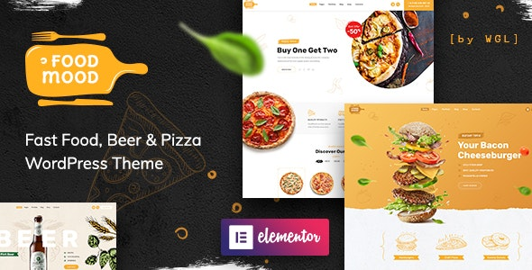 Foodmood - Cafe & Delivery WordPress Theme - Food Retail