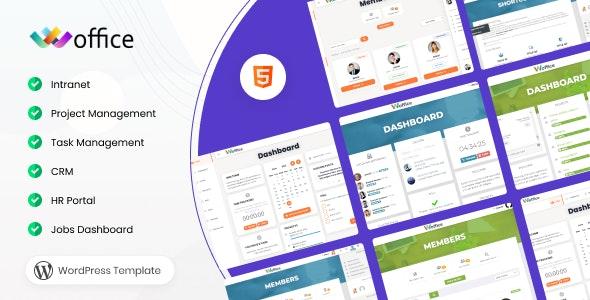 Woffice - Intranet/Extranet WordPress Theme - BuddyPress WordPress