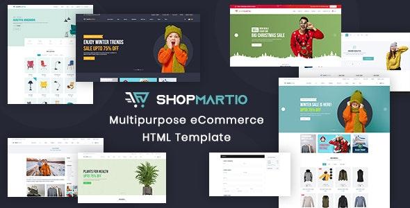 ShopMartio - Multipurpose eCommerce Responsive HTML Template - Creative Site Templates
