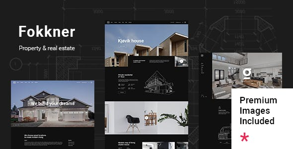 Fokkner - Real Estate and Property Theme