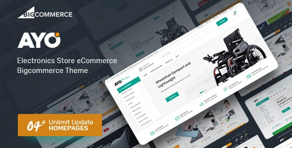 Ayo - Multipurpose Responsive Bigcommerce Theme - BigCommerce eCommerce