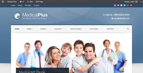 Medical Plus - Doctor / Health WordPress Theme
