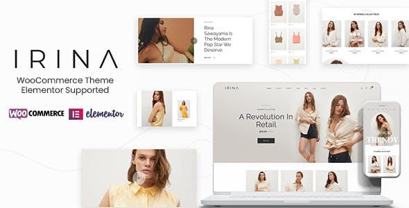 IRINA - Elementor WooCommerce Theme