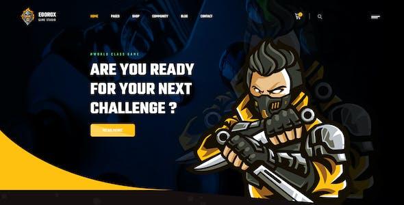 Eoorox - Gaming and eSports HTML5 Template