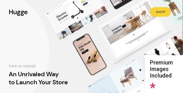 Hugge - Elementor WooCommerce Theme - WooCommerce eCommerce